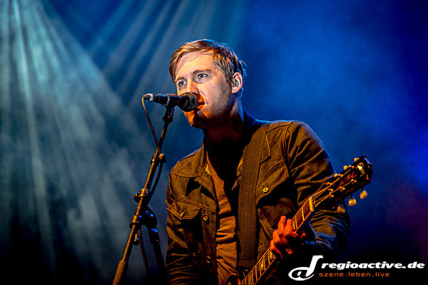 "mit dem album ""handwritten"" auf tour - Fotos: The Gaslight Anthem live in der Jahrhunderthalle in Frankfurt am Main"